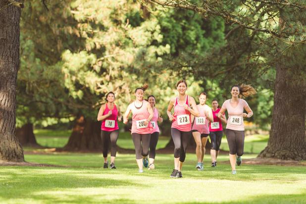 'Vrouwen die veel bewegen, lopen minder risico op borstkanker'