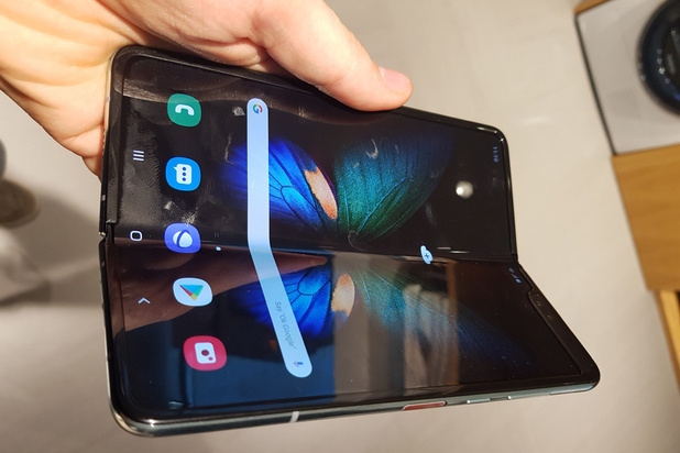 Le smartphone pliable de Samsung ne sera pas vendu en Belgique