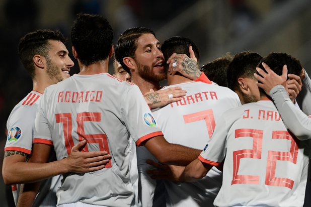 L'Espagne en tête de son groupe après une timide victoire face à Malte