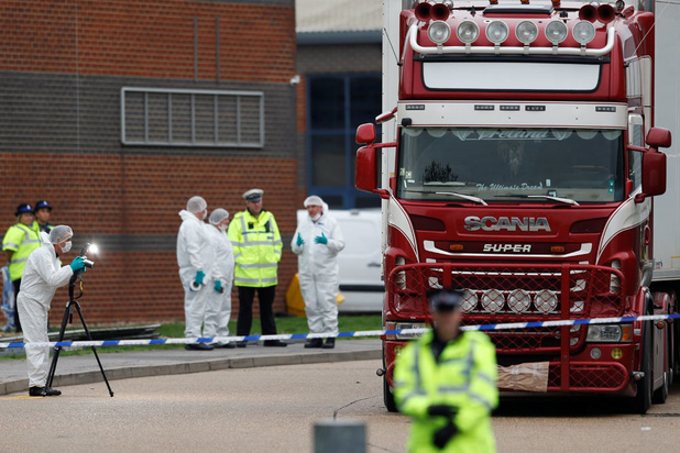 Camion charnier en Grande-Bretagne: les 39 victimes sont vietnamiennes