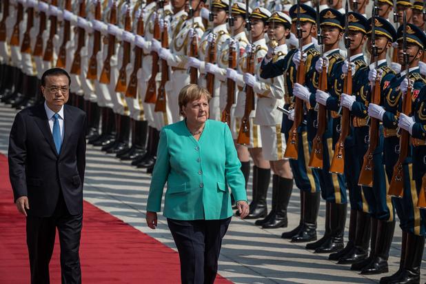 Angela Merkel débute une visite de trois jours en Chine