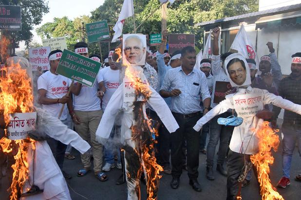 Oproer over burgerschapswet in India: premier Modi probeert moslims gerust te stellen