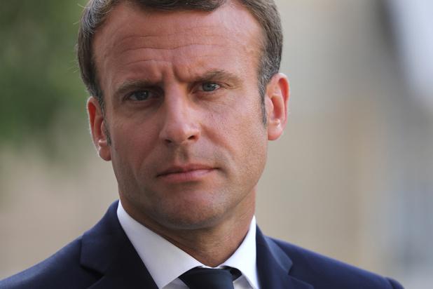 Frans president Emmanuel Macron: 'Een brexit zonder akkoord is het basisscenario'
