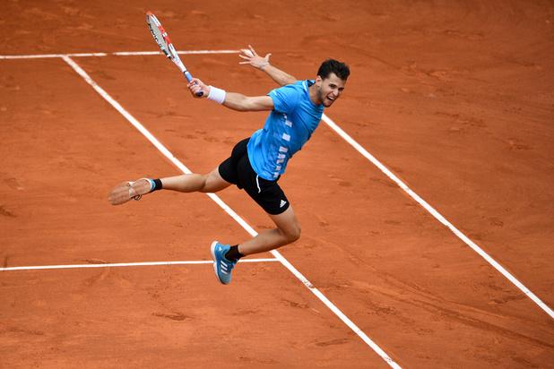 La demi-finale Djokovic-Thiem interrompue à nouveau par la pluie