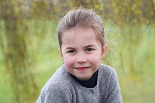Des clichés inédits de Charlotte de Cambridge pour ses 4 ans