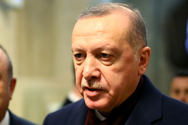 Turks president Erdogan: 'Turkije zal in Idlib geen pas achteruit zetten'