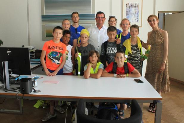 Kinderen Speelcompagnie heel even baas in Oostende