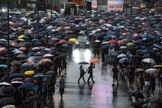 Hong Kong: plus de 1.7 million de manifestants pro-démocratie