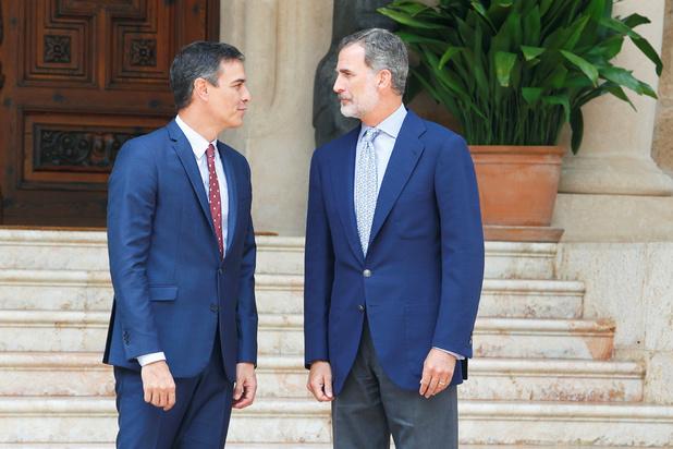 Spaanse koning overlegt in een poging om de politieke impasse op te heffen