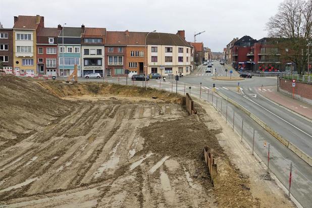 Werken Kortrijkse stationsomgeving herbeginnen in september