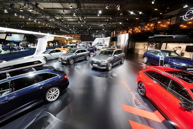 Autosalon Brussel: Audi-stand is de mooiste