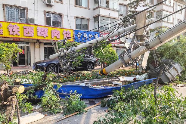 Une tornade frappe la Chine et fait 6 morts et près de 200 blessés