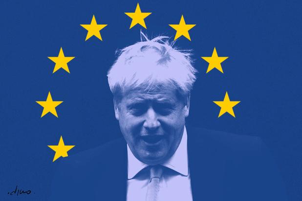 Een nieuwe dag, een nieuwe tegenslag: Boris Johnson moet zijn brexitbelofte opbergen