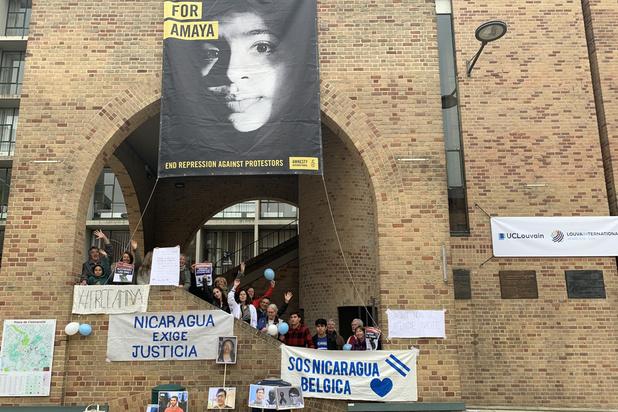 Studente Amaya Coppens vrijgelaten in Nicaragua: 'We blijven op straat komen'