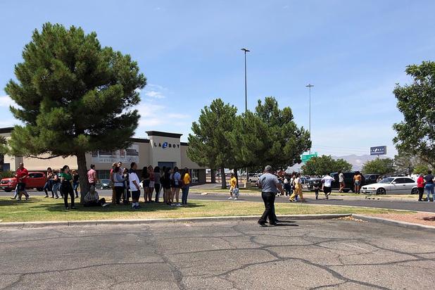 """Fusillade au Texas: """"plusieurs personnes tuées"""""""