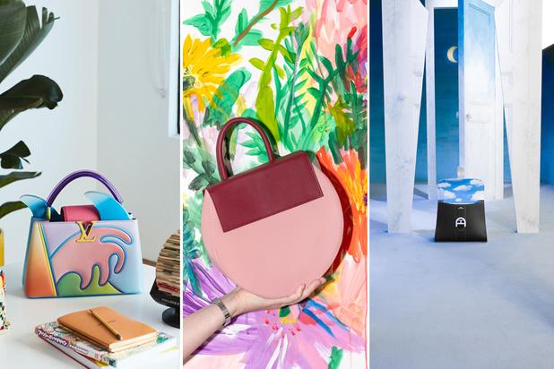 Wanneer mode kunst wordt: drie handtassen met een artistieke inslag