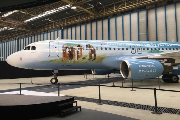 Nieuwe themavliegtuig van Brussels Airlines in het teken van Pieter Bruegel