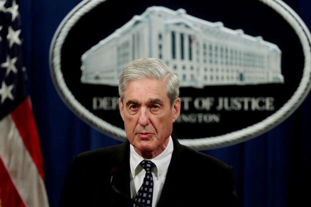 Speciaal aanklager Mueller houdt ermee op: 'Geen legale optie Trump aan te klagen'