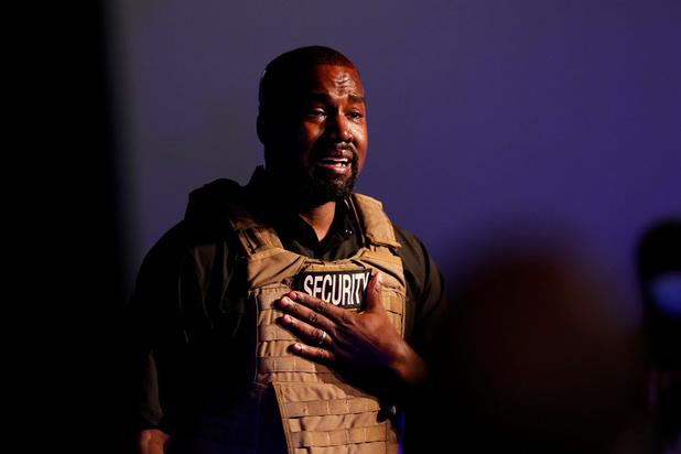 Présidentielle Américaine : le très émotif candidat Kanye West