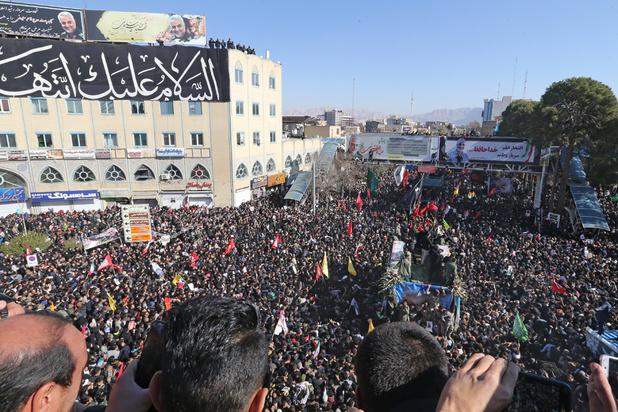 Iran: plus de 50 morts dans une bousculade lors des funérailles de Soleimani