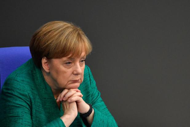 """La sortie ratée d'Angela Merkel"""