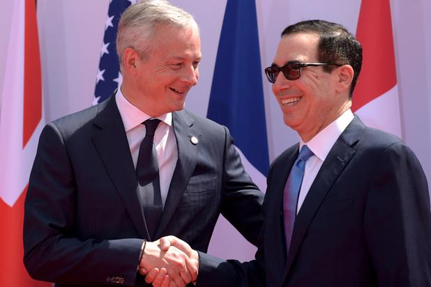 Le G7 Finances trouve un consensus ouvrant la voie à un accord sur la taxation du numérique