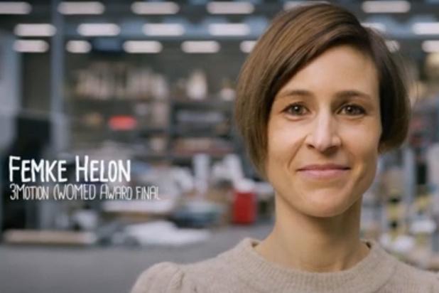Femke Helon van 3Motion is vrouwelijke ondernemer van het jaar