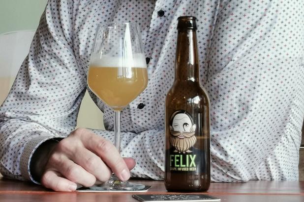 Hoeilaartse brouwer lanceert bier op basis van witte druiven