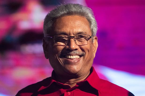 """Gotabaya Rajapaksa, le """"Terminator"""" élu président du Sri Lanka"""