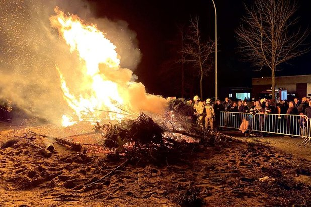 Komt er nog een vijftiende kerstboomverbranding in Izegem?