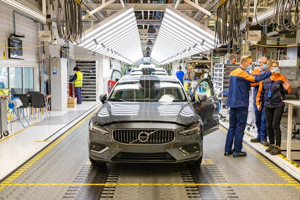 Volvo Gent bouwt tweede model elektrische wagen