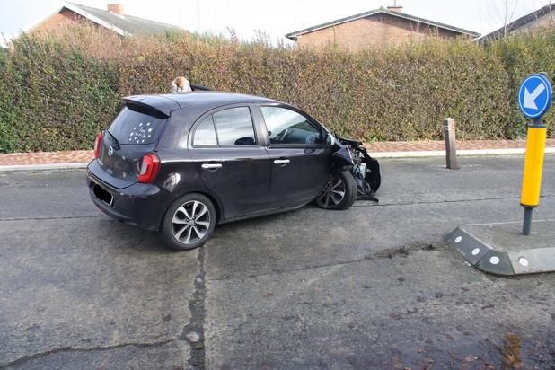 Zoveelste ongeval op rij in de Zandvoordedorpstraat in Oostende