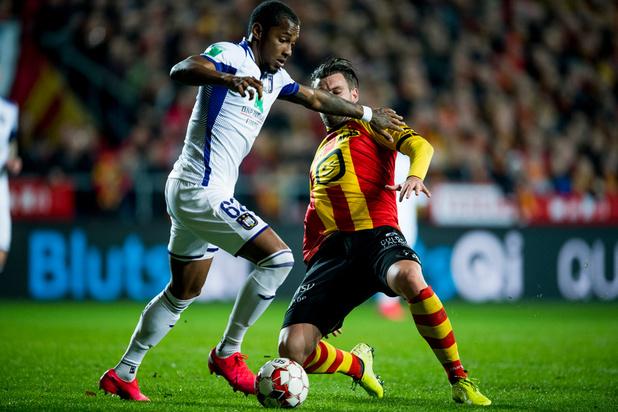 Anderlecht, battu à Malines, voit s'éloigner les play-offs I