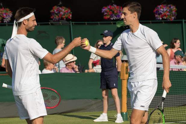 België Boven op US Open