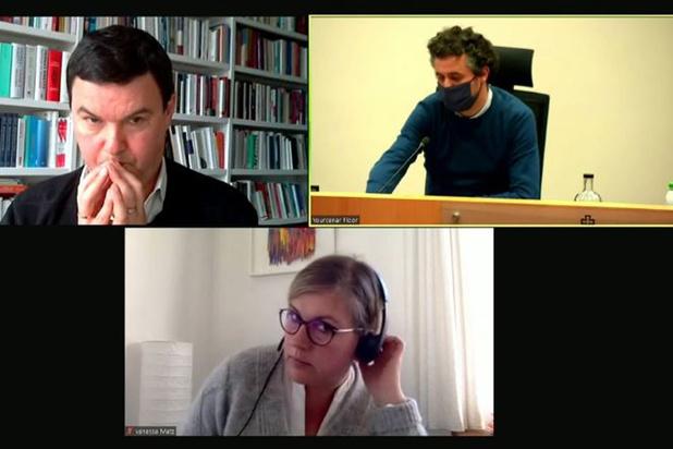 """Thomas Piketty au parlement: """"La justice fiscale doit être une priorité absolue"""""""
