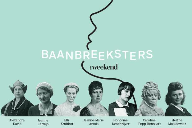 Knack Weekend zet vergeten vrouwen in de kijker in de nieuwe podcast 'Baanbreeksters'