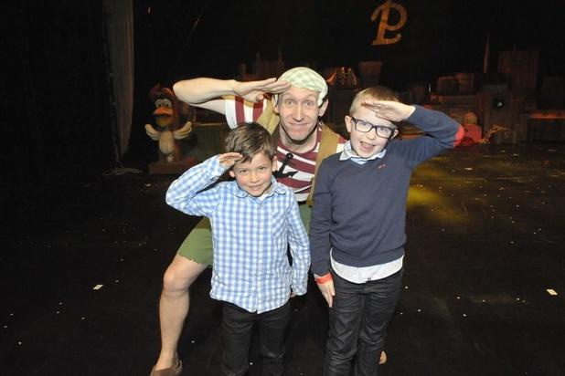 Steven Stil met Piet Piraat te gast in Kursaal Oostende