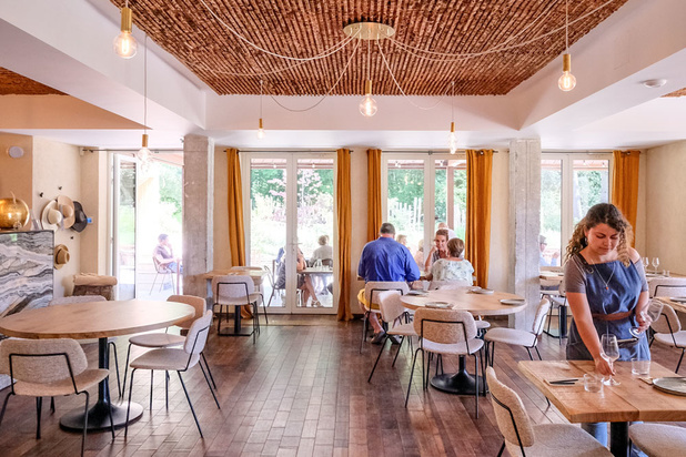 Restaurant Dôme: gezonde gerechtjes om te delen aan de rand van het Zoniënwoud