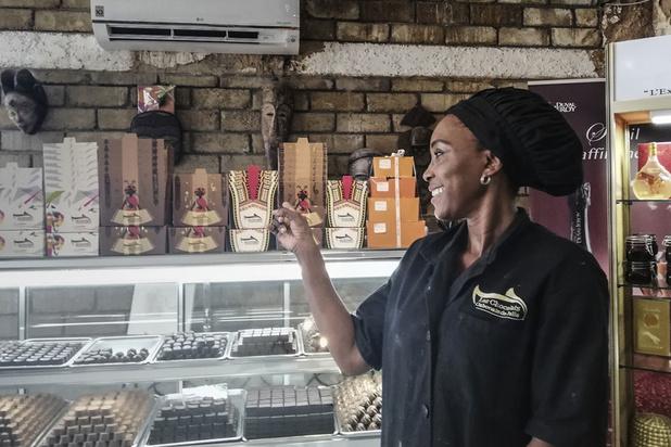 """Au Gabon, les chocolats de Julie, un savoir faire """"made in Africa"""""""