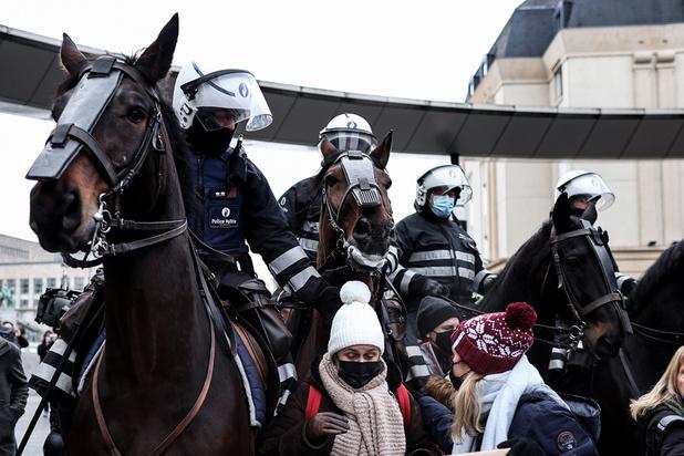 Rassemblement anti-mesures Covid : Près de 500 arrestations
