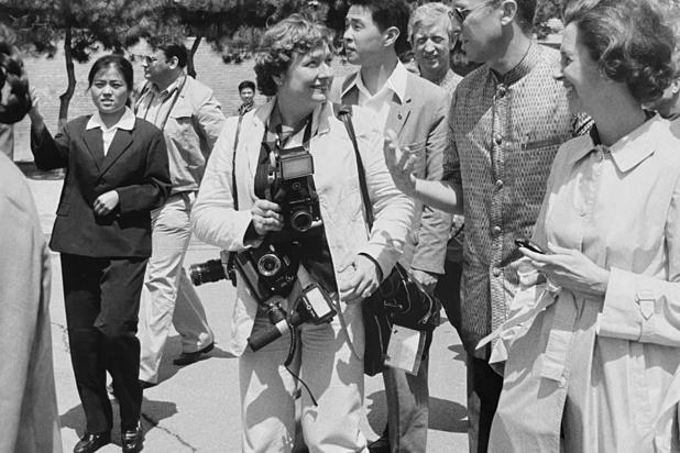 Décès de Odette Dereze, une des pionnières de la photographie de presse belge