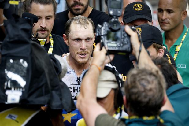 Italiaan Matteo Trentin bezorgt Mitchelton-Scott vierde ritzege in Tour de France