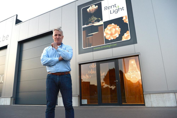 Bart Willekens uit Roeselare neemt Rent a Light in Izegem over