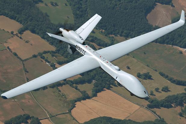 Drie Belgische bedrijven werken mee aan SkyGuardian-drones