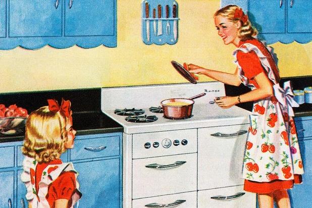 Aujourd'hui encore, ce sont surtout les femmes qui s'occupent de la cuisine