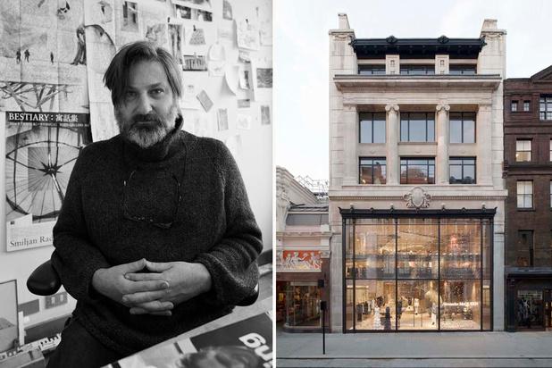Video: architect Smiljan Radic over het designproces van de Alexander McQueen flagshipstore in Londen