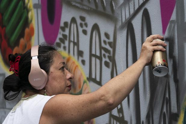 Lady Pink, la première dame du graffiti