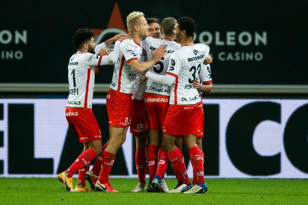 Zulte Waregem s'impose 0-3 sur la pelouse de La Gantoise