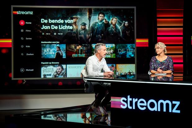Telenet n'exclut pas d'exporter son service de streaming Streamz vers la Wallonie