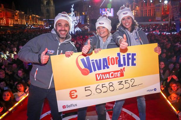 Nouveau record de dons pour l'édition 2019 de Viva for Life